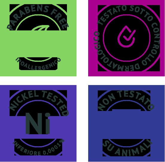 Nickell Paraben free ipoallergenico non testato su animali
